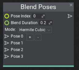 Blend Poses