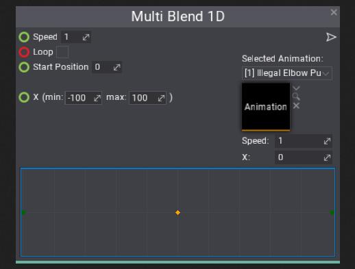 Multi Blend 1D