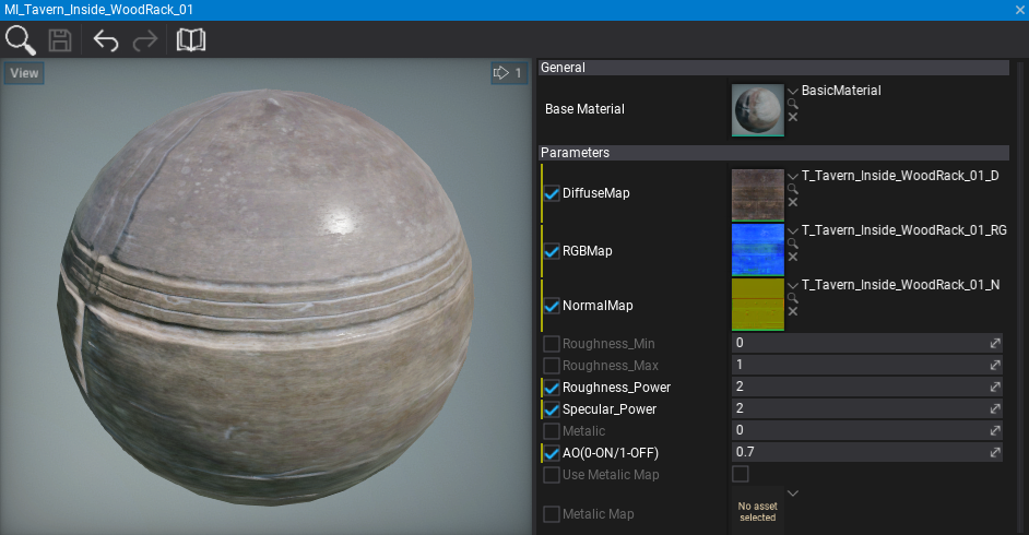 Material Instance